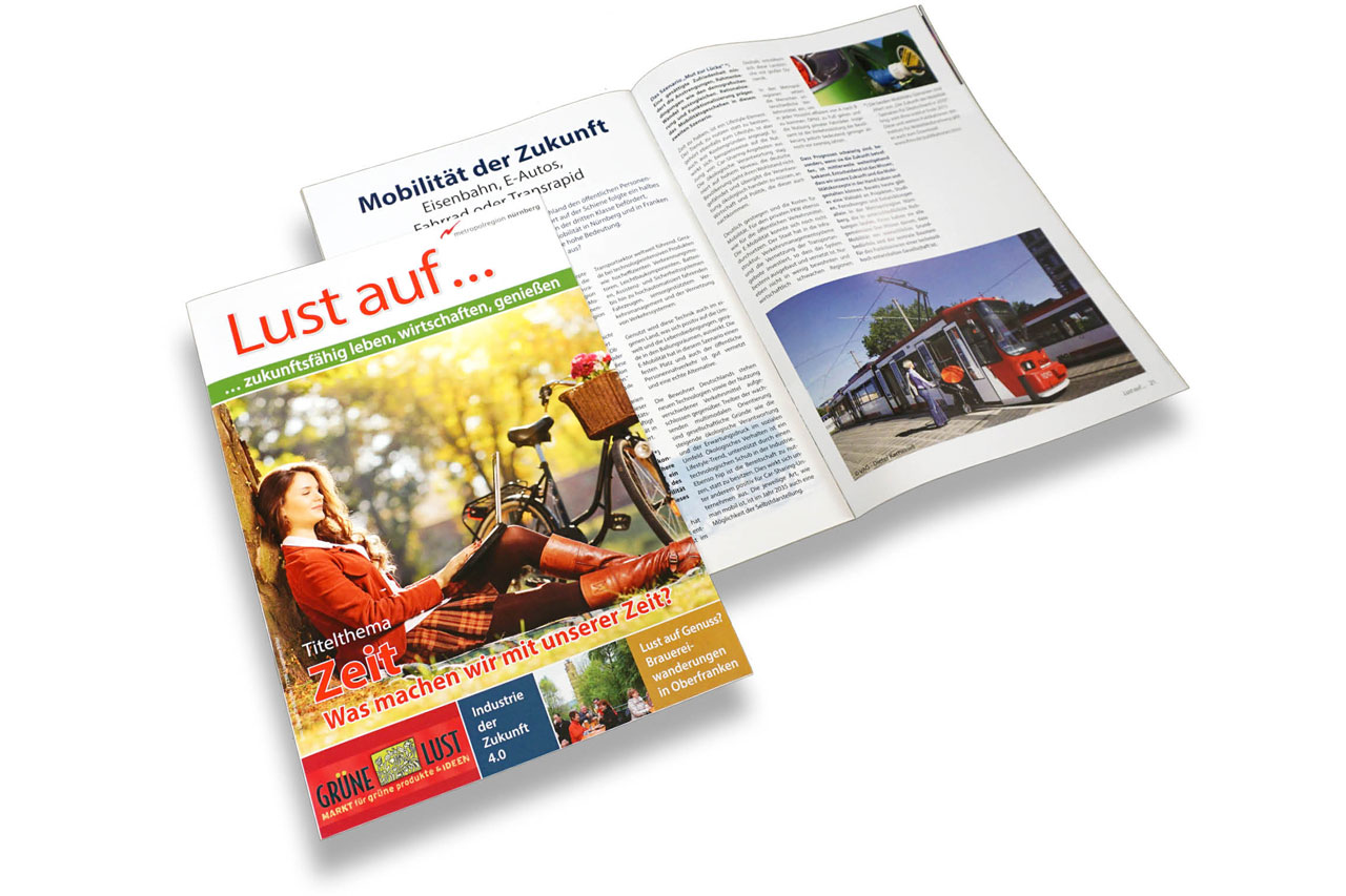 Kundenmagazine Renaissance: zahner bäumel communication